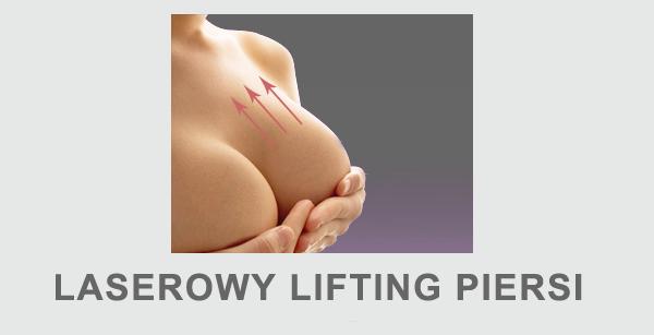 Laserowy lifting piersi