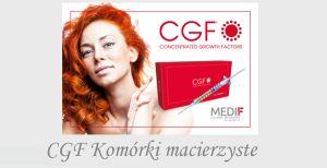 CGF komórki macierzyste utrata owłosienia łysienie czynniki wzrostu